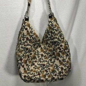 4/$35 Hobo Style Boho Chic Purse Bag Beaded Floral